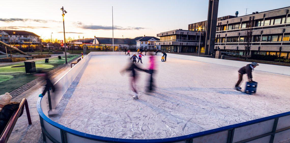 Isbanen i Lyngdal