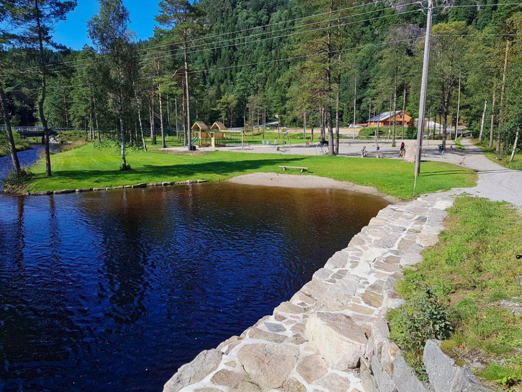 Vann og grøntområde